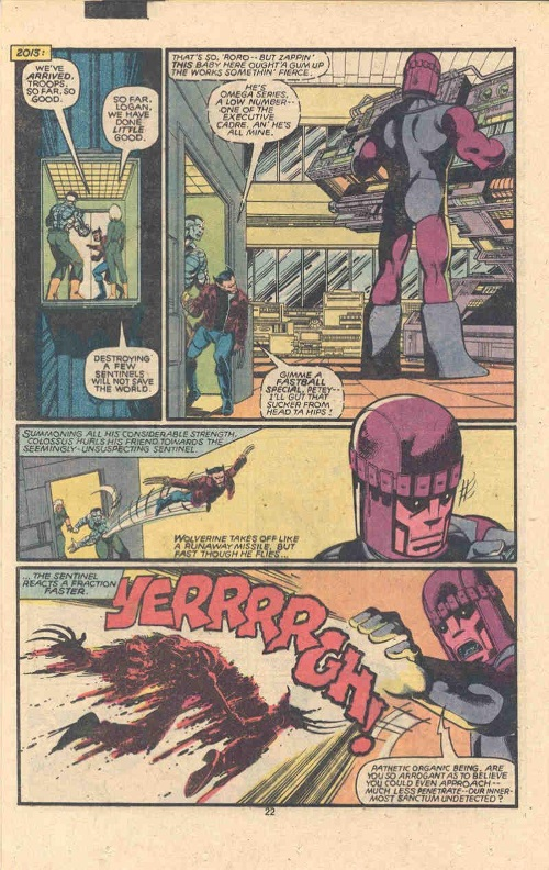 Accelarated Healing-Wolverine-Uncanny X-Men V1 #142