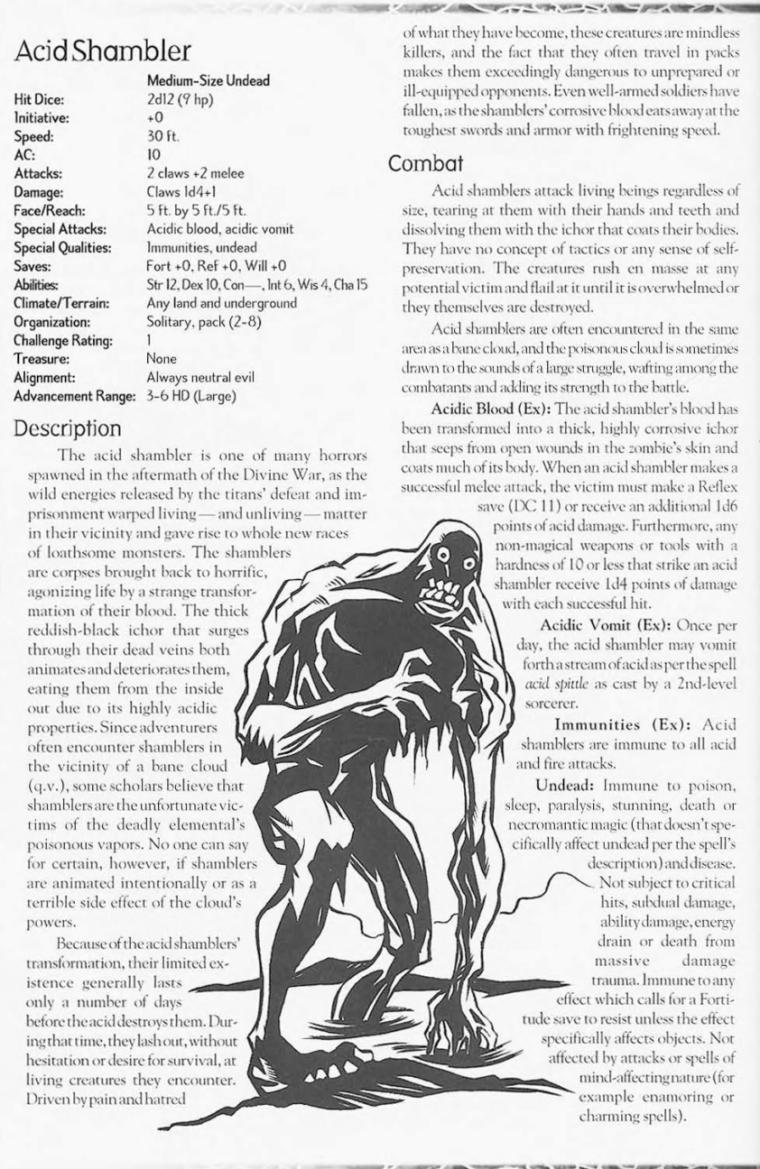 acid-generation-acid-shambler-creature-collection-ii-dark-menagerie