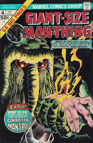 Acid Generation-Man Thing (Marvel)
