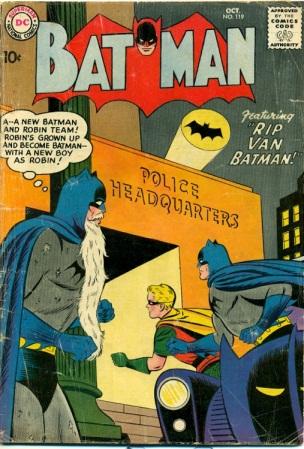 Age Manipulation-Older-Batman V1 #119