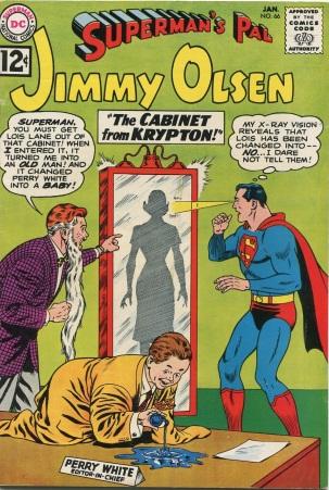Age Manipulation-Older-Jimmy Olsen V1 #66