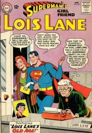 Age Manipulation-Older-Lois Lane V1 #40
