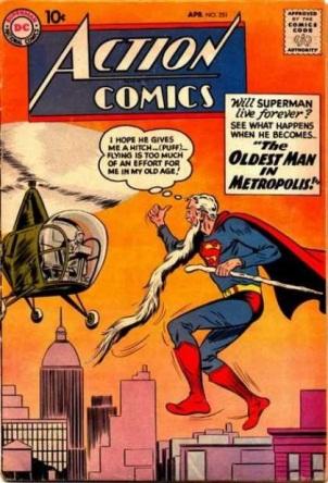 Age Manipulation-Older-Superman-Action Comics V1 #251