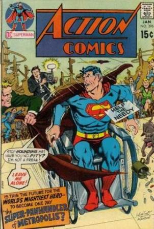 Age Manipulation-Older-Superman-Action Comics V1 #396