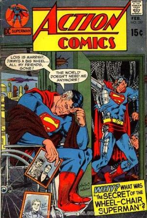 Age Manipulation-Older-Superman-Action Comics V1 #397
