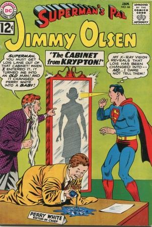 Age Manipulation-Younger-Jimmy Olsen V1 #66