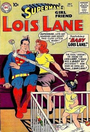Age Manipulation-Younger-Lois Lane V1 #10