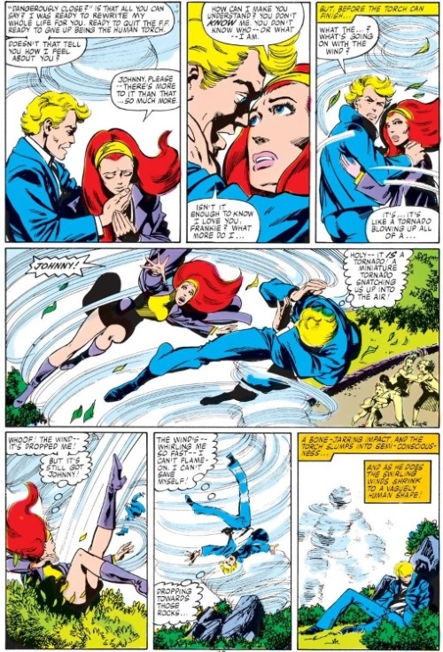 Air Mimicry–Air-Fantastic Four V1 #232