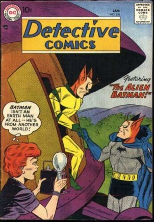 Alien Mimicry-OS-Batman-Detective Comics V1 #251