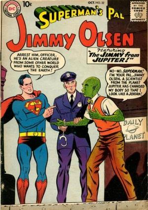 Alien Mimicry-OS-Jimmy Olsen V1 #32