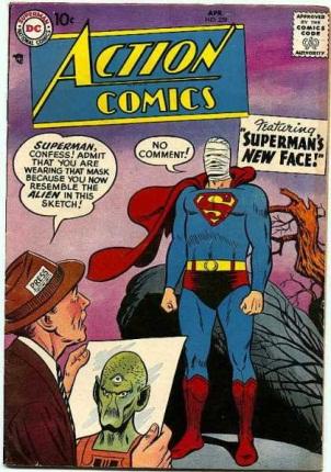 Alien Mimicry-OS-Superman-Action Comics V1 #239