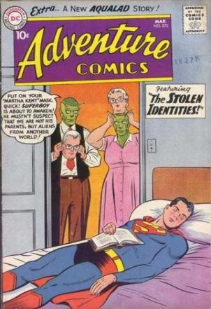 Alien Mimicry-OS-Superman-Adventure Comics V1 #270