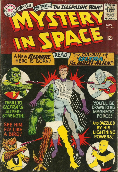 Alien Mimicry-Ultra the Multi-Alien-Mystery in Space V1 #103