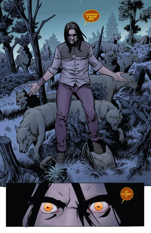 Animal Control-Red Wolf V2 #6-15