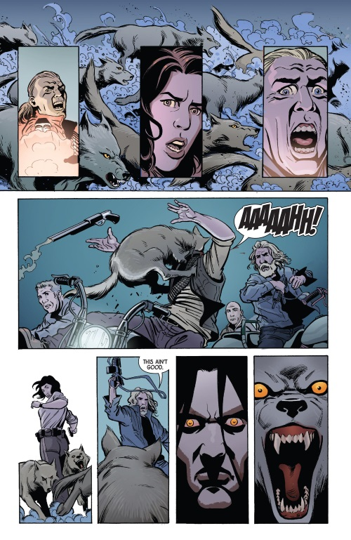 Animal Control-Red Wolf V2 #6-16