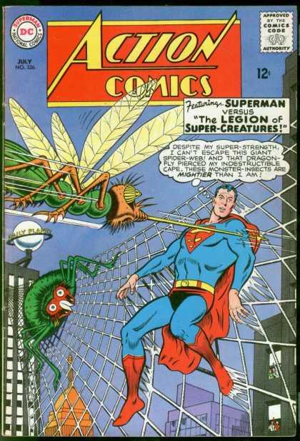 Animal Control-Superman-Legion of Super Creatures-Action Comics V1 #326