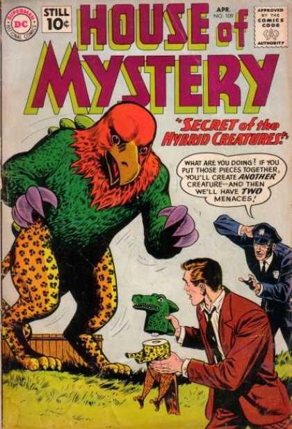 Animal Mimicry (hybrid)-OS-House of Mystery V1 #109
