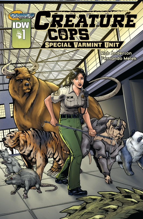 Animal Mimicry (hybrid)–Creature Cops Special Varmint Unit #1 (2015)