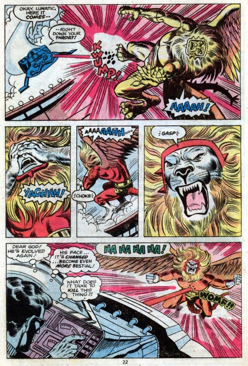 Animal Mimicry (hybrid)–Griffin-Marvel Team-Up V1 #78-13