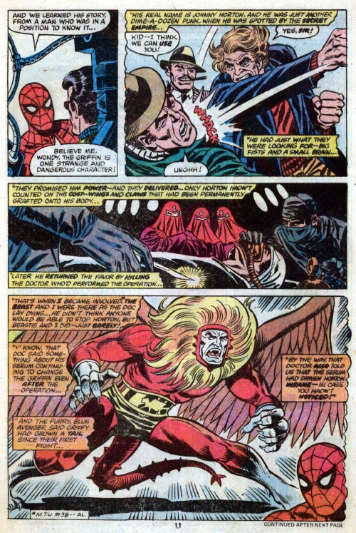Animal Mimicry (hybrid)–Griffin-Marvel Team-Up V1 #78-8