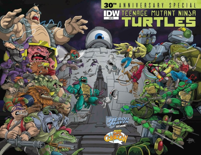 Animal Mimicry (hybrid)–Teenage Mutant Ninja Turtle-30th-Anniv-Special