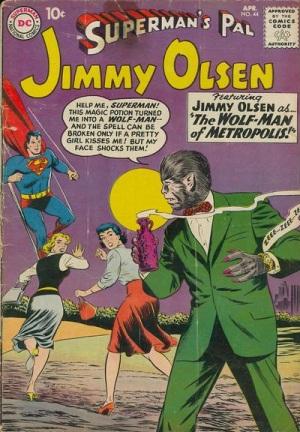 Animal Mimicry (hybrid)–Werewolf-os-Jimmy Olsen V1 #44