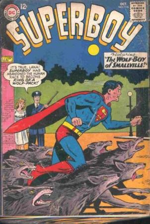 Animal Mimicry (hybrid)–Werewolf-os-Superboy V1 #116