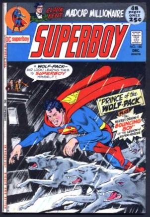 Animal Mimicry (hybrid)–Werewolf-os-Superboy V1 #180