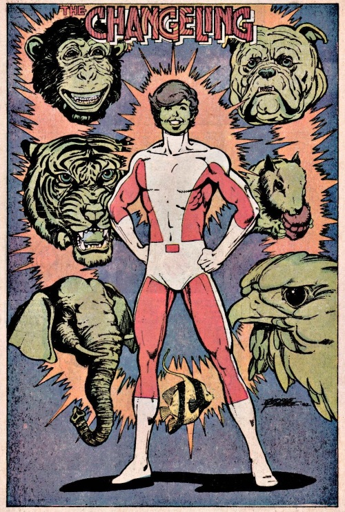 Animal Mimicry (multi)-Beast Boy-Tales of the New Teen Titans #3