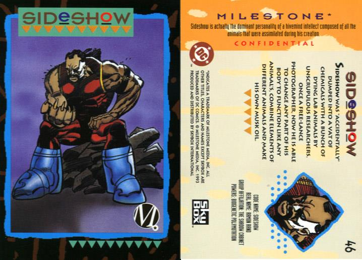 Animal Mimicry (multi)-Sideshow-Milestone Media Universe Card Set