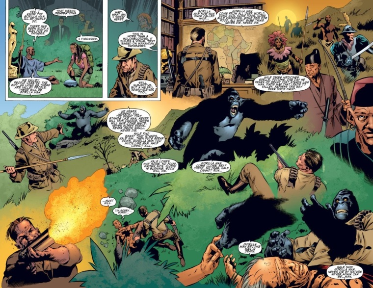 Animal Mimicry (one)-Gorilla-Man-Agents of Atlas V1 #2