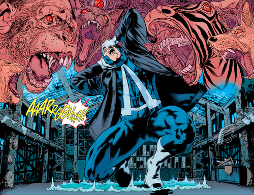 Animal Perception–Animal Man