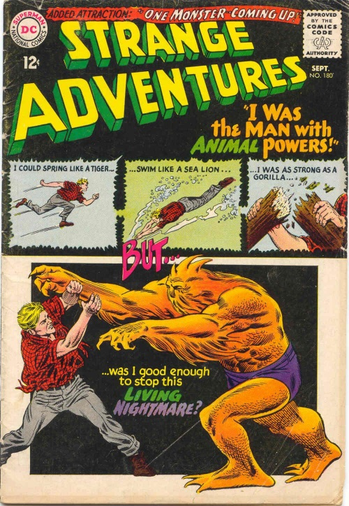 Animal Powers–Animal Man-Strange Adventures V1 #180