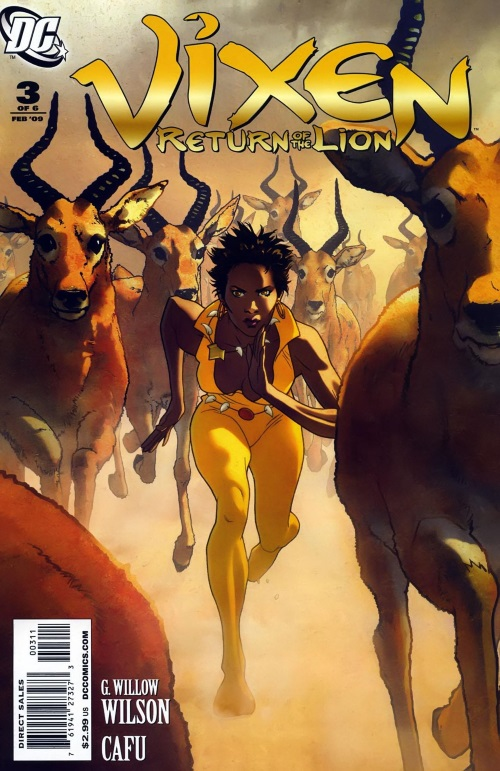 Animal Powers–Vixen-Return of the Lion #3