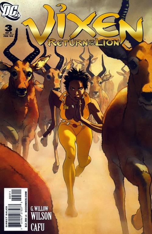 Animal Powers–Vixen-Return of the Lion #3