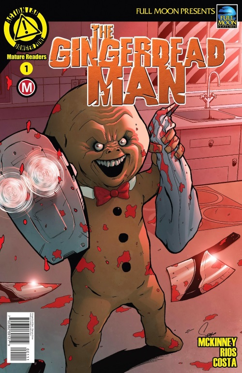 Animate Objects-Gingerdead Man #1 (Action Lab)