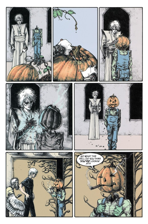 Animate Objects-Merv Pumpkinhead-The Sandman-The Wake V10 (Vertigo)
