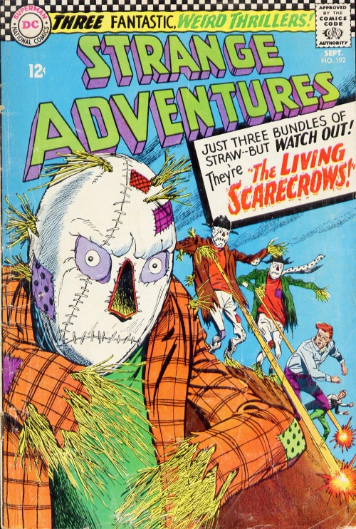 Animate Objects-Scarecrows-Strange Adventures V1 #192