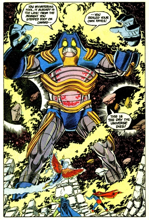 AntiMatter Mimicry-Anti-Monitor-Crisis on Infinite Earths #12