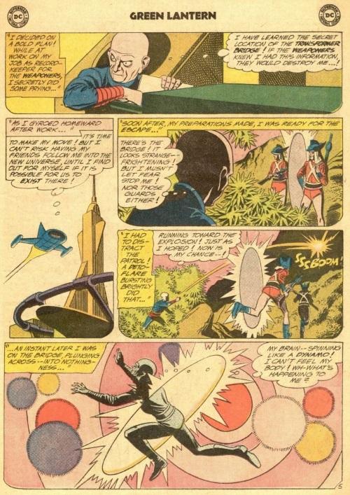 Antimatter Transport-Green Lantern-Secret of the Golden Thunderbolts V2 #2-7