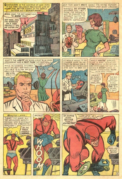 Appendages (antennae)-Giant Man-Tales to Astonish V1 #58-4