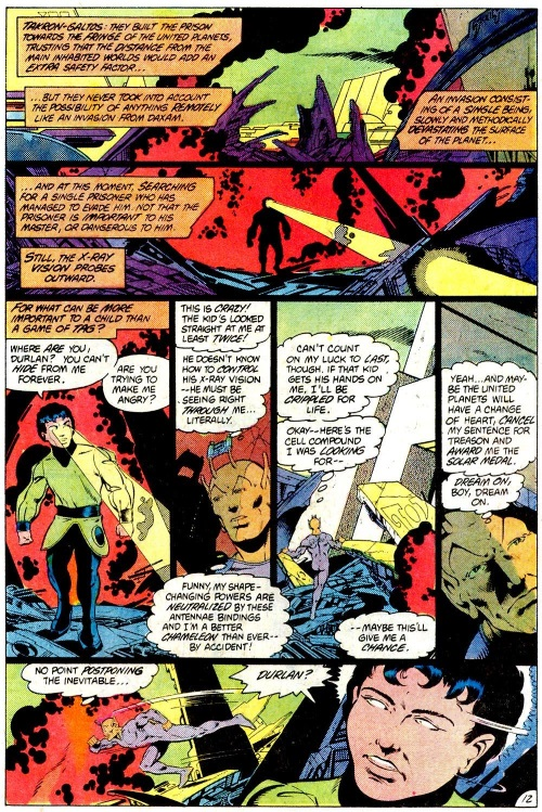 Appendages (antennae)–Chameleon Boy-Legion of Super-Heroes V2 #294