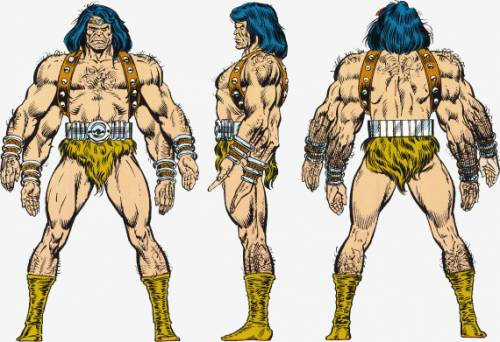 Appendages (arms)-Barbarus (Marvel)