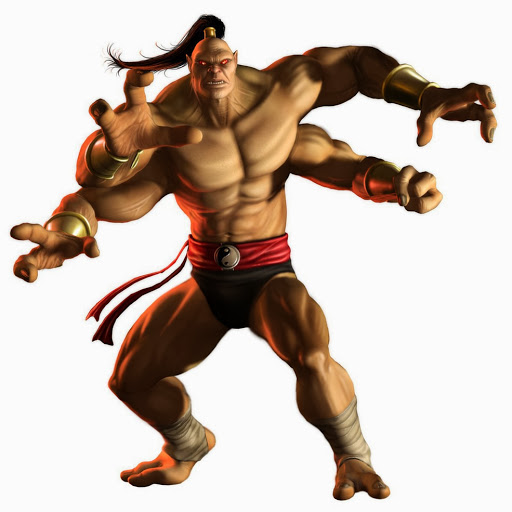 Appendages (arms)-MK-Goro-Mortal Kombat
