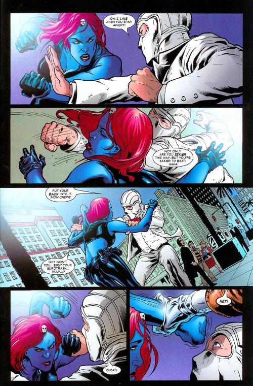 Appendages (arms)-Mystique #20 (Marvel)