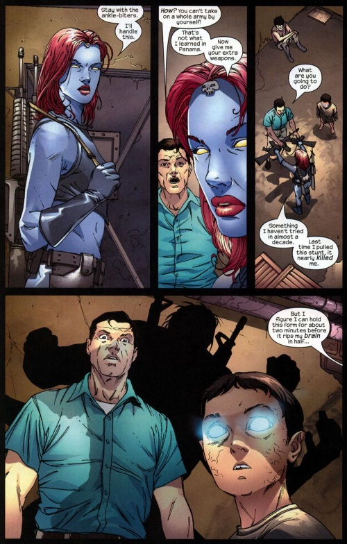 Appendages (arms)-Mystique #5 (Marvel)-15