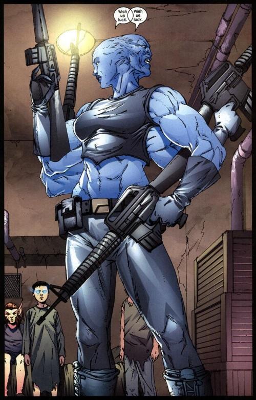 Appendages (arms)-Mystique #5 (Marvel)-16