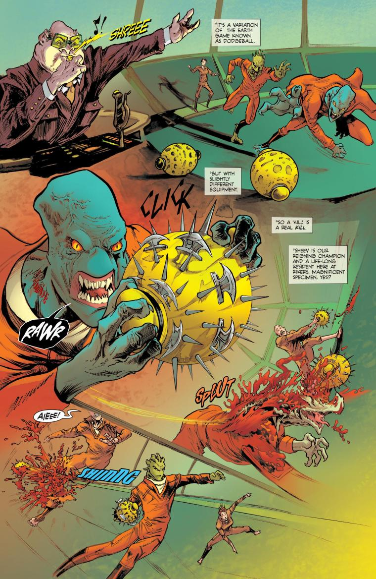 Appendages (arms)-Sheev-Strange Sports Stories #1 (Vertigo)1