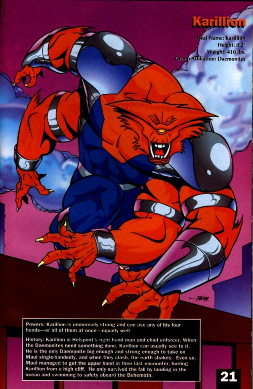 Appendages (arms)-WS-Karillion-WildCATs Adventures Sourcebook
