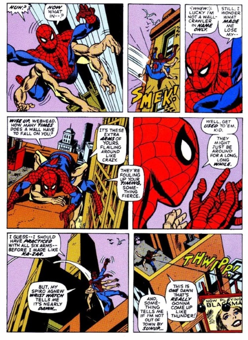 Appendages (arms)–Six Arms Saga–Amazing Spider-Man V1 #101-9